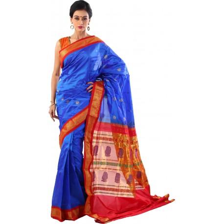 Woven Paithani Blend Saree