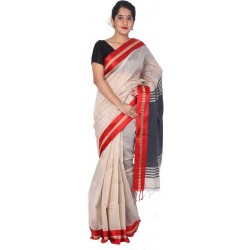Woven Cotton Silk Blend Saree