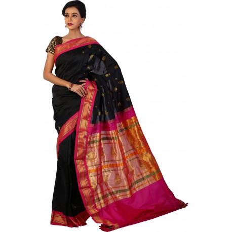 Woven Paithani Silk Saree