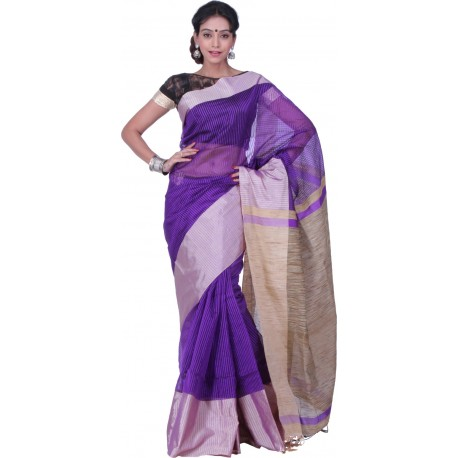 Sanrocks Global Fashions Woven Fashion Polycotton Saree  (Multicolor)