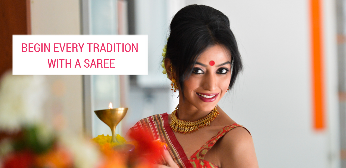 Begin Every Tradition with a Saree