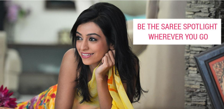 Be the Saree Spotlight Wherever You Go